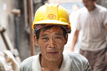 Chinese worker